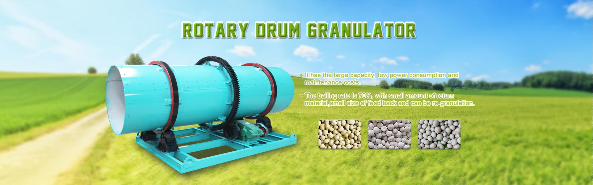 Rotary Drum Granulator