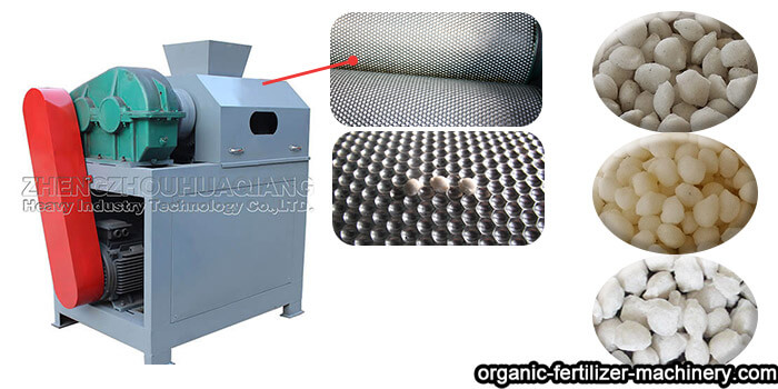 fertilizer roller extrusion granulator