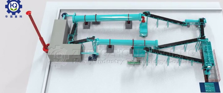 Organic Fertilizer Granulation Production Line