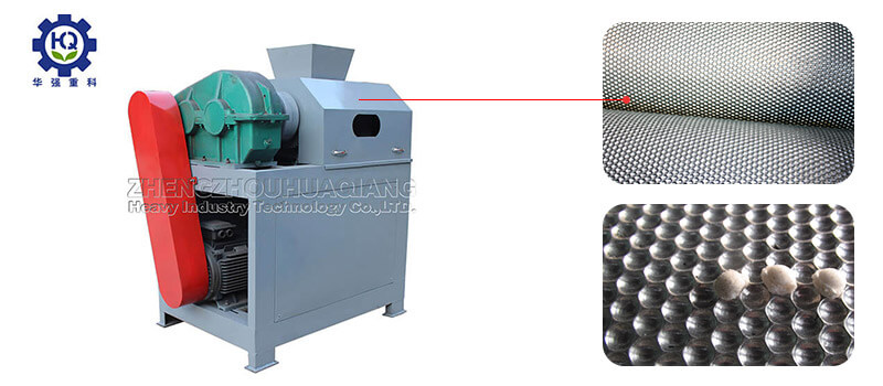 roller extrusion granulator of fertilizer manufacturing equipment