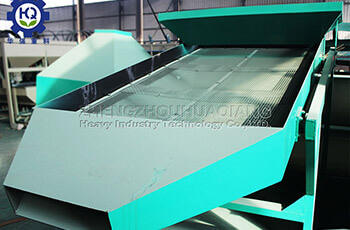 vibrating screen for fertilizer production