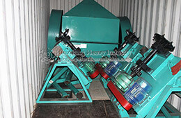 Bio organic fertilizer equipment sold to Nigeria