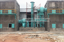 NPK fertilizer production line site
