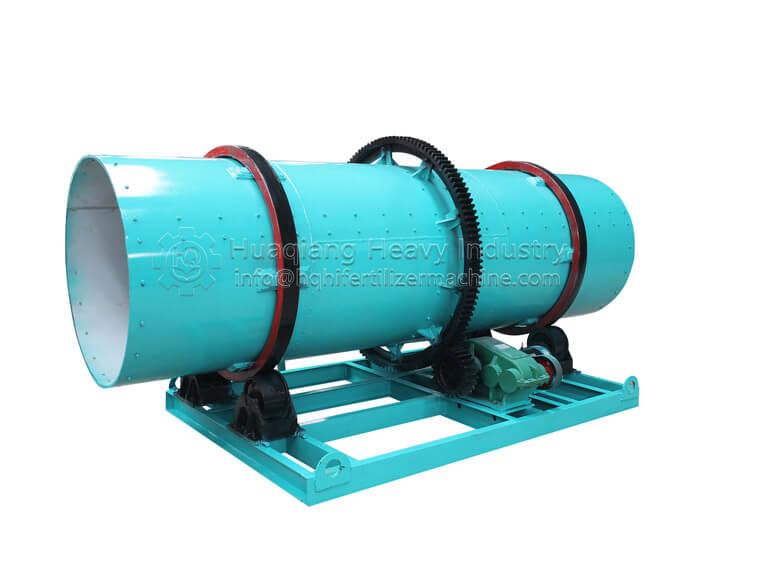 Fertilizer equipment drum granulator solves the problem of wall sticking Rotary-drum-granulator1