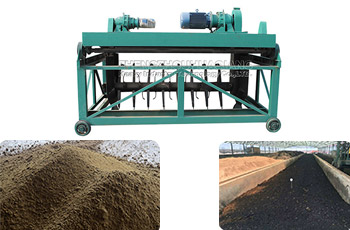 How to treat the manure of sheep farm, how to process the manure into organic fertilizer