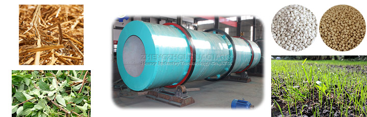 Organic fertilizer drum granulator production line