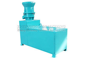 Flat die organic fertilizer granulator